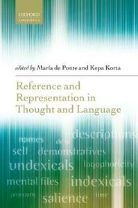 Reference and Representation in Thought and Language - cover