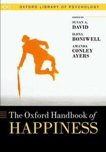 Oxford Handbook of Happiness - cover