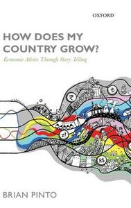How Does My Country Grow?: Economic Advice Through Story-Telling - Brian Pinto - cover