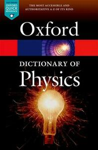 A Dictionary of Physics - cover