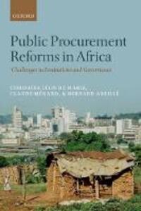 Public Procurement Reforms in Africa: Challenges in Institutions and Governance - Christine Leon de Mariz,Bernard Abeille - cover