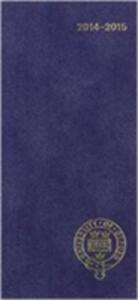 Oxford University Pocket Diary 2014-15 - Oxford University Press - cover
