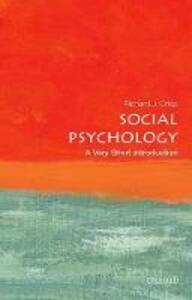 Social Psychology: A Very Short Introduction - Richard J. Crisp - cover