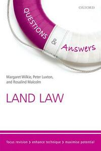 Questions & Answers Land Law: Law Revision and Study Guide - Margaret Wilkie,Peter Luxton,Rosalind Malcolm - cover