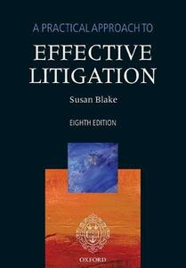 A Practical Approach to Effective Litigation - cover