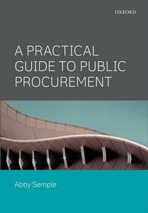A Practical Guide to Public Procurement - Abby Semple - cover