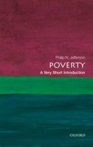 Poverty: A Very Short Introduction - Philip N. Jefferson - cover