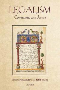 Legalism: Community and Justice - cover