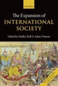 The Expansion of International Society - cover