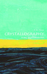 Crystallography: A Very Short Introduction - A. M. Glazer - cover