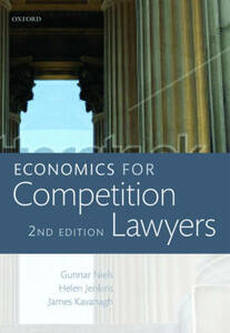 Economics for Competition Lawyers - Gunnar Niels,Helen Jenkins,James Kavanagh - cover