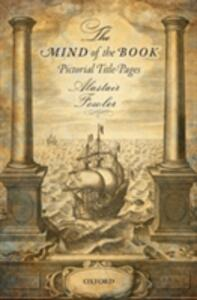 The Mind of the Book: Pictorial Title-Pages - Alastair Fowler - cover