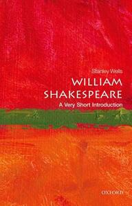 William Shakespeare: A Very Short Introduction - Stanley Wells - cover