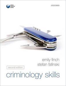 Criminology Skills - Emily Finch,Stefan Fafinski - cover