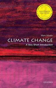 Climate Change: A Very Short Introduction - Mark A. Maslin - cover