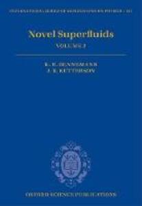 Novel Superfluids: Volume 2 - cover