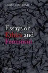 Essays on Ethics and Feminism - Sabina Lovibond - cover