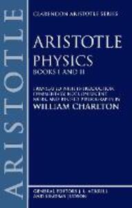 Physics Books I and II - Aristotle - cover