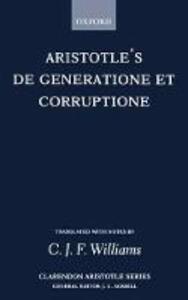 De Generatione et Corruptione - Aristotle - cover