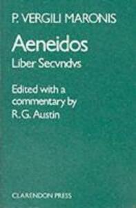 Aeneid: Book 2 - Virgil - cover