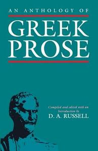 An Anthology of Greek Prose - cover