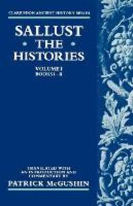 The Histories: Volume 1 (Books i-ii) - Sallust - cover