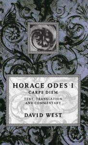 Horace: Odes I: Carpe Diem - Horace - cover