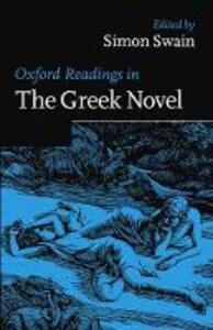 Oxford Readings in the Greek Novel - cover