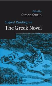 Oxford Readings in the Greek Novel - cover