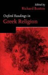 Oxford Readings in Greek Religion - cover