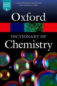 A Dictionary of Chemistry - cover