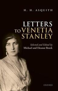 H. H. Asquith Letters to Venetia Stanley - cover