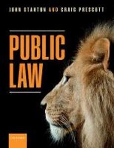 Public Law - John Stanton,Craig Prescott - cover