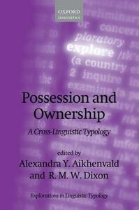 Possession and Ownership: A Cross-Linguistic Typology - cover