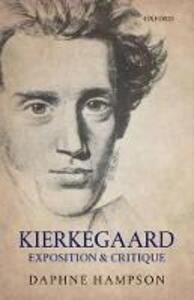 Kierkegaard: Exposition & Critique - Daphne Hampson - cover