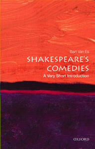 Shakespeare's Comedies: A Very Short Introduction - Bart van Es - cover