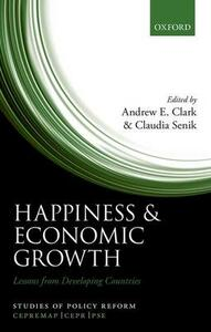 Happiness and Economic Growth: Lessons from Developing Countries - cover