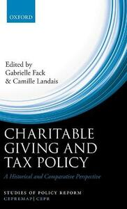 Charitable Giving and Tax Policy: A Historical and Comparative Perspective - cover