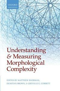 Understanding and Measuring Morphological Complexity - cover