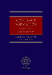 Contract Formation: Law and Practice - Michael Furmston,Gregory Tolhurst - cover