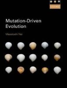 Mutation-Driven Evolution - Masatoshi Nei - cover