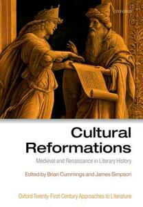 Cultural Reformations: Medieval and Renaissance in Literary History - cover