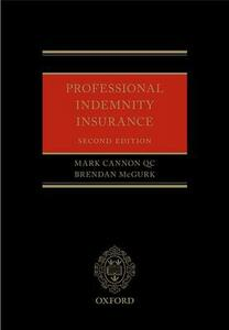 Professional Indemnity Insurance - Mark Cannon,Brendan McGurk - cover