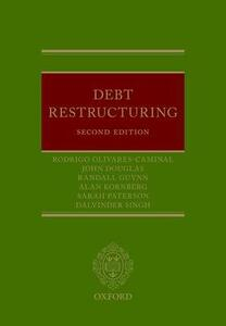 Debt Restructuring - Rodrigo Olivares-Caminal,Alan Kornberg,Sarah Paterson - cover