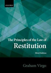 The Principles of the Law of Restitution - Graham Virgo - cover