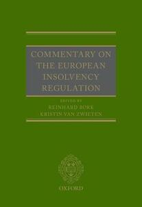 Commentary on the European Insolvency Regulation - cover