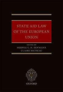 State Aid Law of the European Union - cover