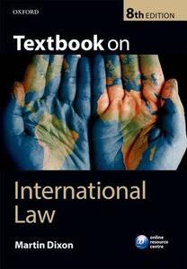 Textbook on International Law - Martin Dixon - cover