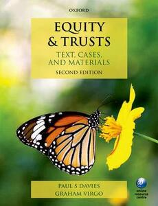 Equity & Trusts: Text, Cases, and Materials - Paul S. Davies,Graham Virgo - cover
