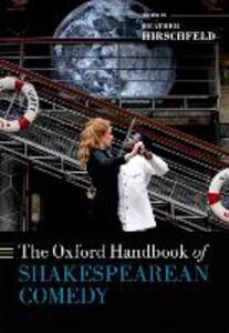 The Oxford Handbook of Shakespearean Comedy - cover